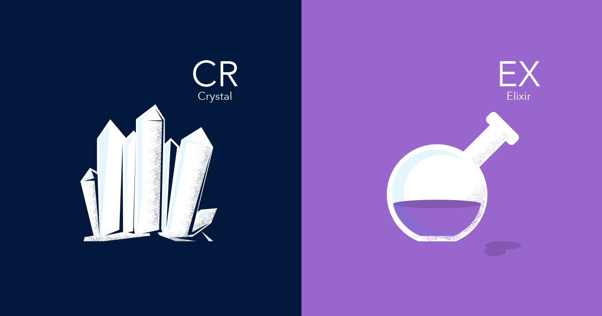 Crystal or Elixir? A Good Problem To Have | Littlelines