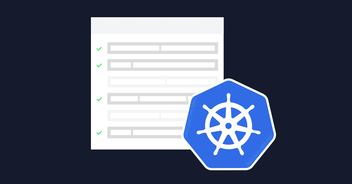 Kubernetes tasks article